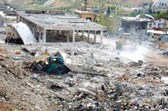 Bombardements de la Syrie par Isral ph AFP