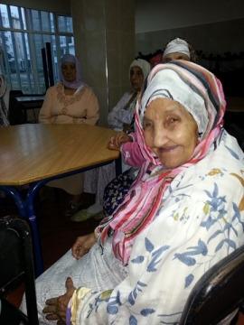 Pensionnaire Maison de vieux Maroc
