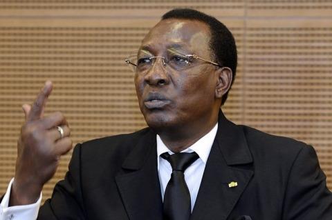 Tchad Idriss Dby Ph AFP