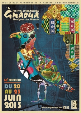 Affiche Festival Gnaoua