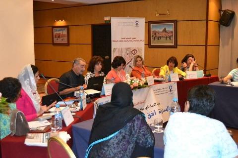 Femmes et Printemps arabe Casa juin 2013