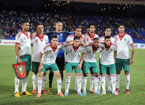 L equipe du Maroc 2013