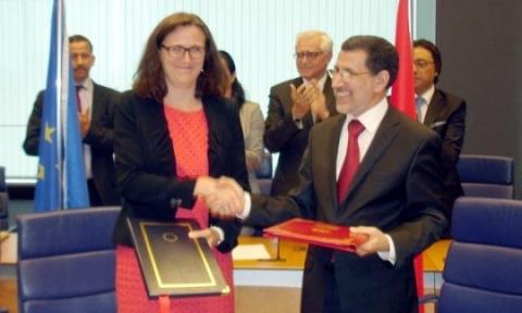 Maroc UE signature partenariat mobilit 2013