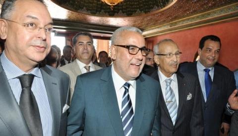 Miloud Chaabi Benkirane Haddad palais des congrs Marrakech