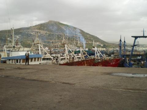 Port de peche Agadir
