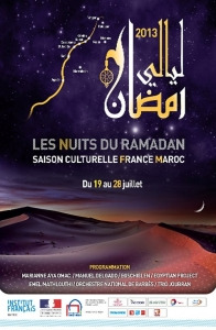 Affiche nuits du ramadan