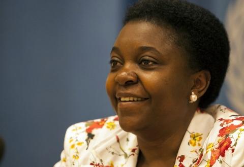 Cecile Kyenge ministre de lintgration italienne