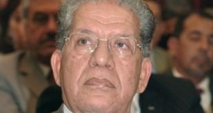 Mohamed El Yazghi, ancien Premier secrétaire de l'Union socialiste des forces populaires (USFP)