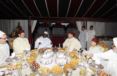 Iftar maroc macky sall juillet 2013