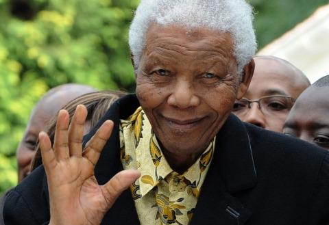 Nelson Mandela AFP