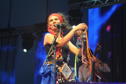 Oum au Festival Gnaoua