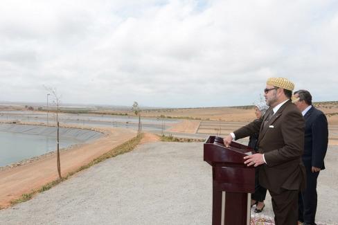 SM Mohammed VI Inaugurations dans lOriental
