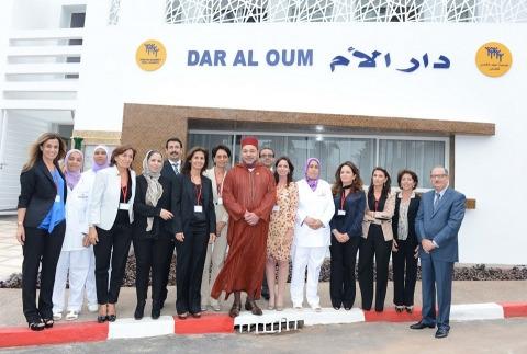 Mohammed VI inauguration casablanca