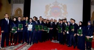 OFPPT Les diplômés au Palais royal !