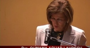 Oumama aouad ambassadrice du maroc au perou
