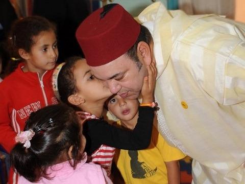 Roi maroc education