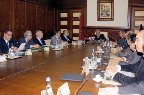 Conseil de gouvernement maroc 2013