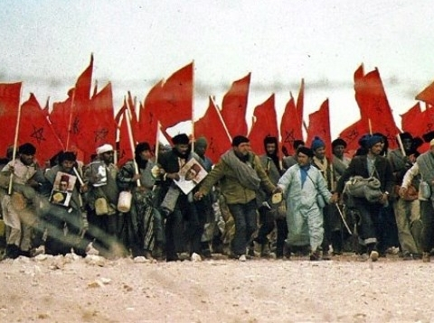 Marche verte sahara maroc