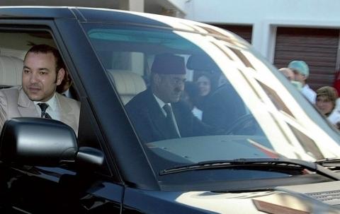 Roi mohammedVI a casablanca AFP