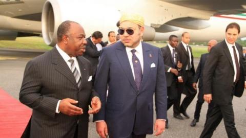 Roi mohammedVI president bongo