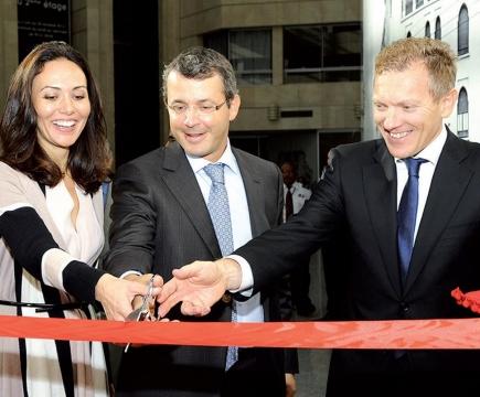Societe generale banque privee inauguration casablanca