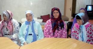 Vieux au maroc