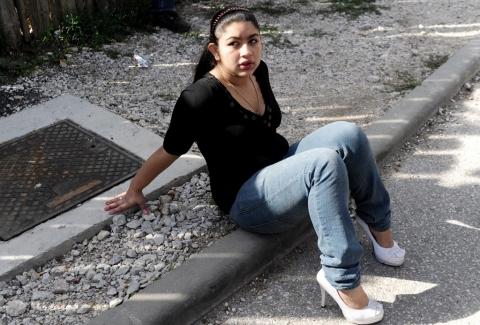 Leonarda dibrani roms france 2013 AFP