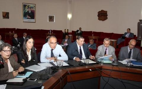 Mezouar et bouayda au parlement commission des ae