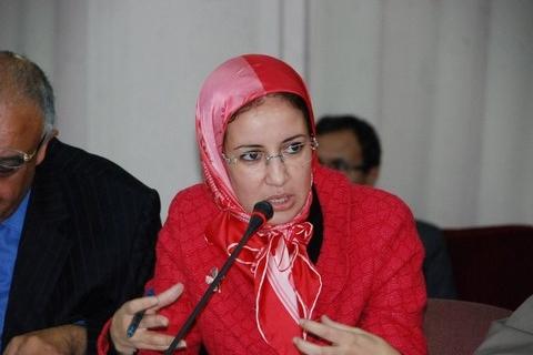 Mounia Ghoulam istiqlal