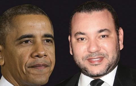 President obama usa roi mohammedVI maroc 2013
