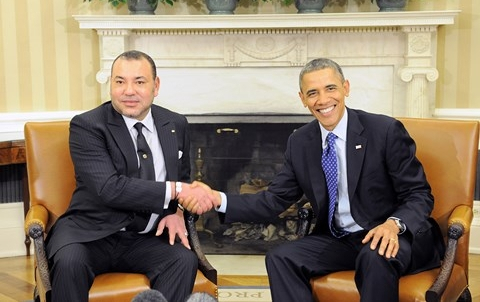 Roi mohammedVI president obama Washington Novembre 2013