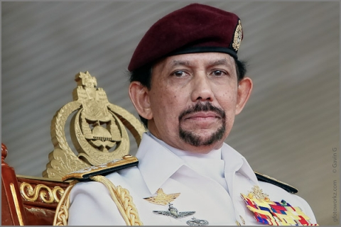 Sultan hassan al Bolkiah brunei AFP