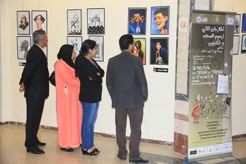 meknes festival du dessin de presse et humour