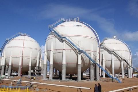 Citernes de stockage de gaz Maroc