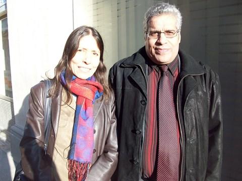 Diana bouayad amine et abdellah ajnah photo Thierry Perez