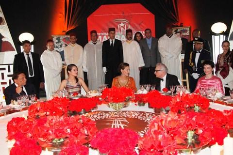 Fifm princesse lalla meryem preside diner de gala