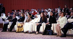 Maroc-Qatar La Princesse Lalla Salma à Doha