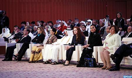 Lalla salma a doha qatar
