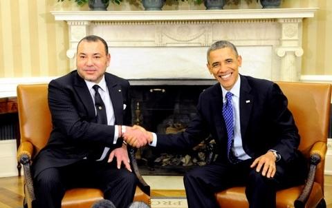 Roi Mohammed VI Obama