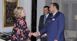 New York Le Roi Mohammed VI rencontre Hillary Clinton