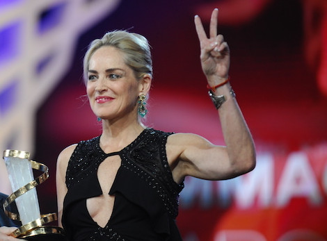 Sharon Stone FIFM Marrakech