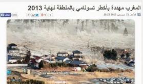 Intox Le tsunami que souhaite le pouvoir algérien au Maroc