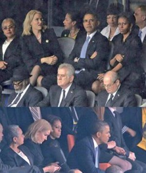 Michelle obama change de place