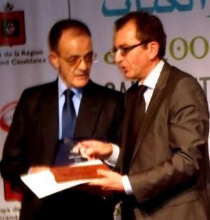 Abdelouahed akmir et le ministre amine sbihi