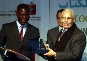 Ahmed belhaj ait ouarham et ministre ivoirien de la culture