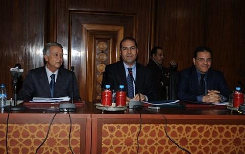 Maire et Wali de Casablanca conference fevrier 2014