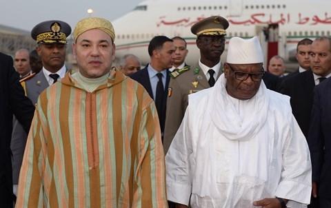 Roi MohammedVI et president malien Ibk