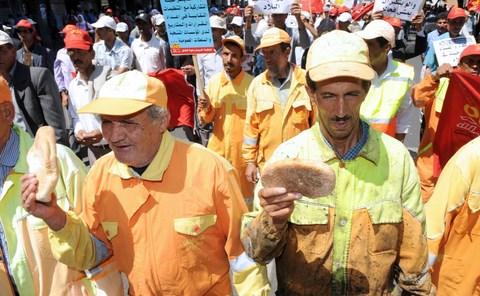 Syndicats marocains