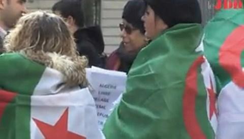 Algeriens de france manif anti systeme