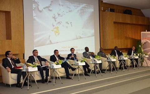 Conference de Presse resultats BCP Casablanca mars 2014